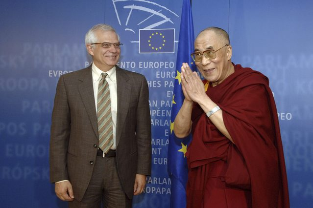 EU opposes Chinese interference in Dalai Lama succession