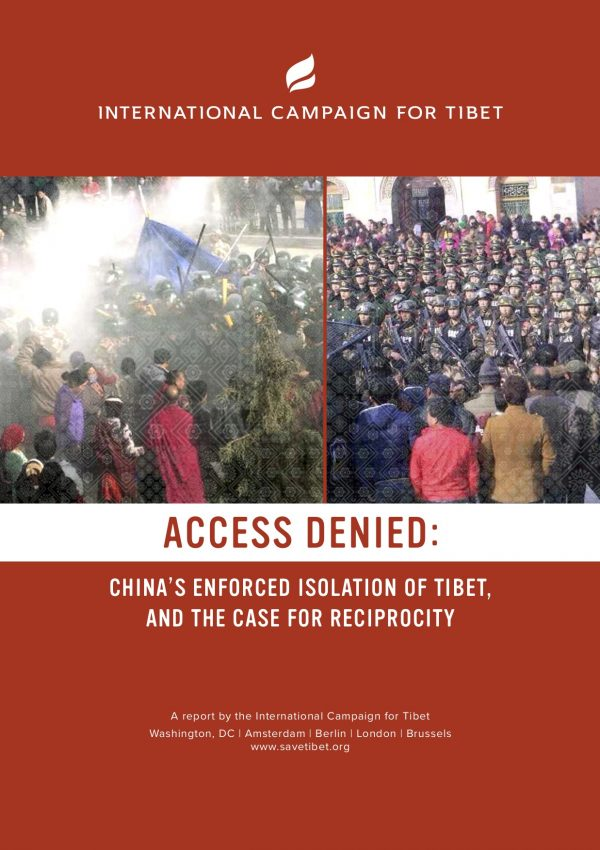 New ICT report reveals China's strategies of weaponizing access to Tibet