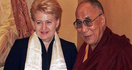 Lithuanian President meeting with Dalai Lama highlights importance of EU solidarity