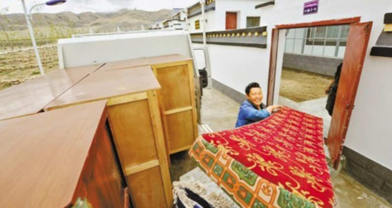New 'defense' villages and infrastructure being built on Tibet's border