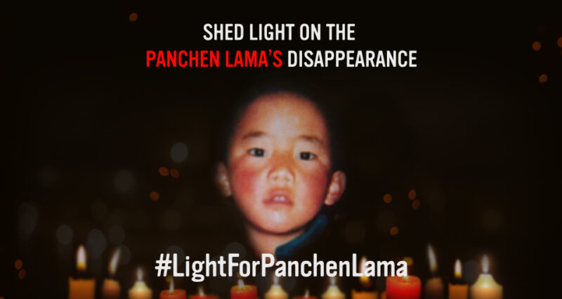 TAKE ACTION: Shed light on the Panchen Lama's disappearance!