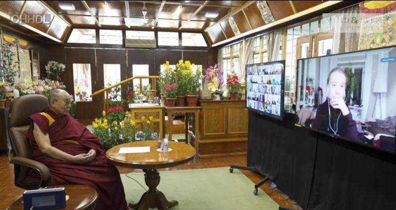 Dalai Lama, Greta Thunberg discuss climate feedback loops