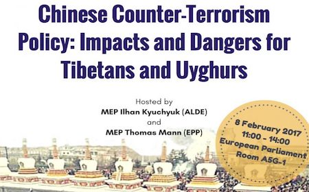 ICT-UNPO-FIDH conference in the European Parliament – Chinese counter-terrorism policy:  Impacts and dangers for Tibetans and Uyghurs