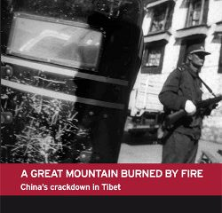 A Great Mountain Burned by Fire: China's Crackdown in Tibet