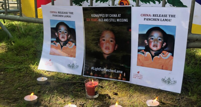 #LightForPanchenLama: Worldwide call for the release of the Panchen Lama