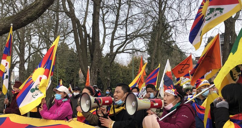 2021 Tibetan Uprising Day brings protests, statements, solidarity