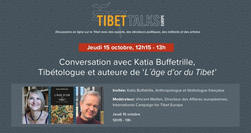 Tibet Talks Europe – Conversation with French tibetologist Katia Buffetrille