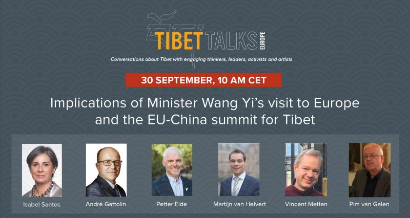 Tibet Talks Europe – Implications of Minister Wang Yi's visit to Europe and of EU-China leaders' meetings on Tibet