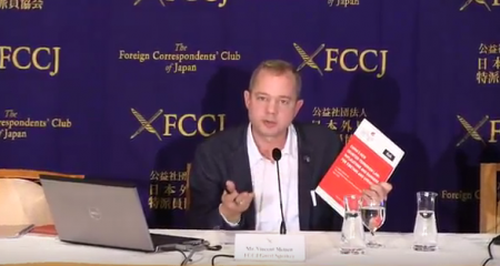 ICT-FIDH new report on China's new counter-terrorism law – Press Conference at Tokyo's FCC