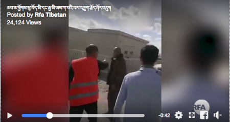 Video footage shows attack on Tibetans protesting arrival of Chinese work team in grasslands