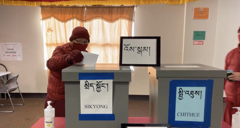 Tibetans in exile conduct first round of elections for president and parliament