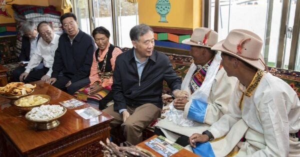"Top Chinese political advisor makes ""inspection tour"" of Tibetan region"