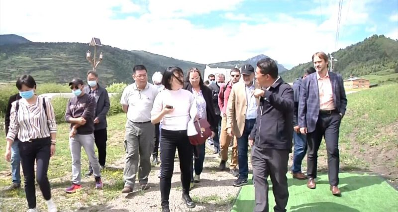 China allows group of diplomats to visit two Tibetan areas under strict control