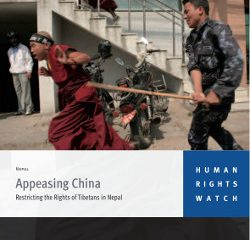 Appeasing China, Restricting the Rights of Tibetans in Nepal